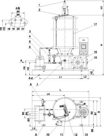 drb-l型系列电动润滑泵