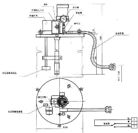 KGP-700L・S型电动补脂泵
